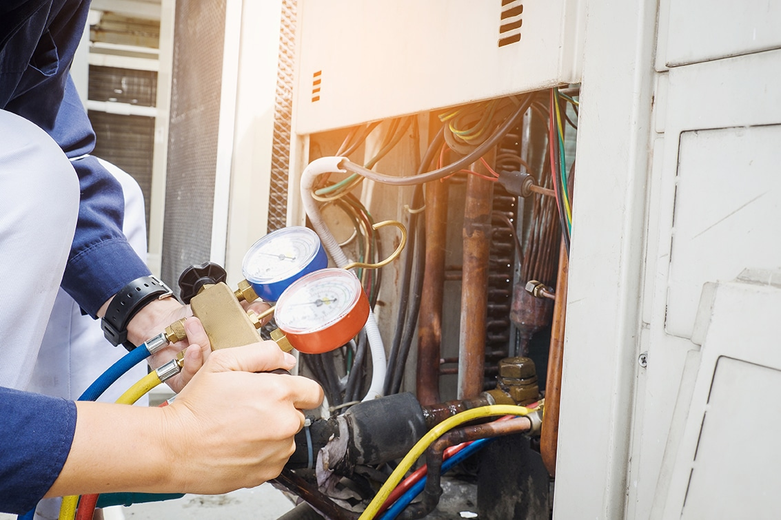 HVAC Technician performs furnace repair in ellensburg, wa
